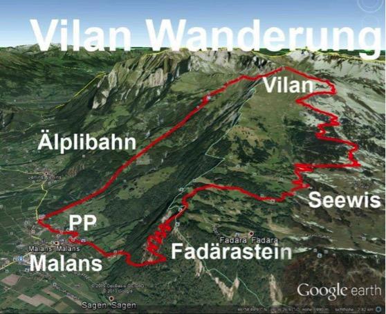 """Gos-Wanderung auf """"Vilan"""""""
